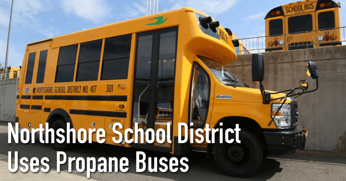 Northshore School District Uses Propane Buses